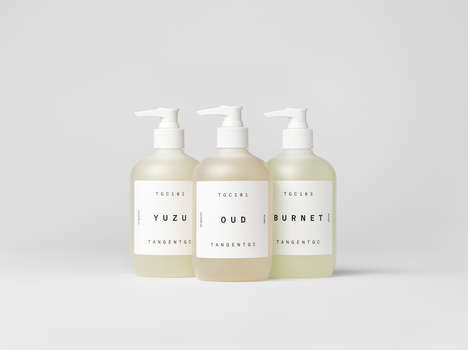 Petrochemical-Free Cosmetic Soaps - The Tangent GC TGC100 Liquid Soaps are Free of Preservatives