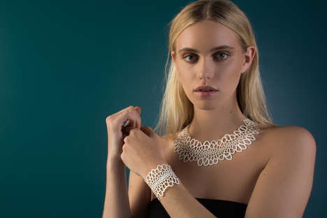 Algorithmically Designed Jewelry - Nervous System's Corollaria Collection is Inspired by Biology