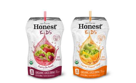 Kid-Friendly Juice Options - Subway is Now Offering Honest Kids Juices as a Healthy Drink Option