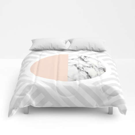 Collaborative Artistic Bedspreads - 'Society6' Has Released a Series of Decorative Comforters