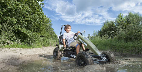 Durable Branded Go-Karts - The Jeep Revolution BFR-3 is a Kid-Sized Off-Road Vehicle