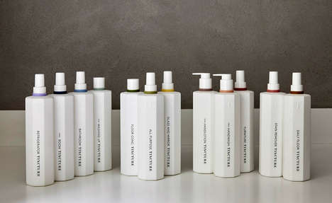 Botanic Cleaning Products - 'Tincture' Offers a Collection of Ethical Home Cleaning Items