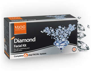 Luxurious Facial Kits - VLCC's Face Care Sets are Made with Precious Metals and Gems