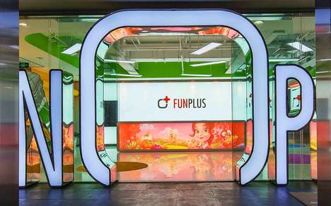 "Vibrant Gaming Offices - The Funplus Office Includes an ""Oxygen Corner"" and Other Creative Stations"