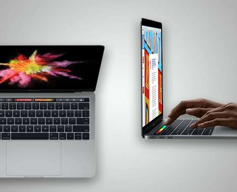 OLED Touch Button Laptops