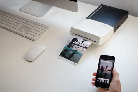 Instantaneous Portable Photo Printers - The PIK A6 Sublimation Printer Prints Photos Anywhere