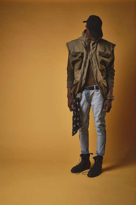 Underground Parisian Menswear - Atelier Neutre's Spring/Summer Collection Blends Cultural Influences