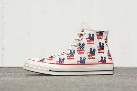 Election-Themed Sneakers - These Limited-Edition Converse All Stars Encourage Americans to Vote