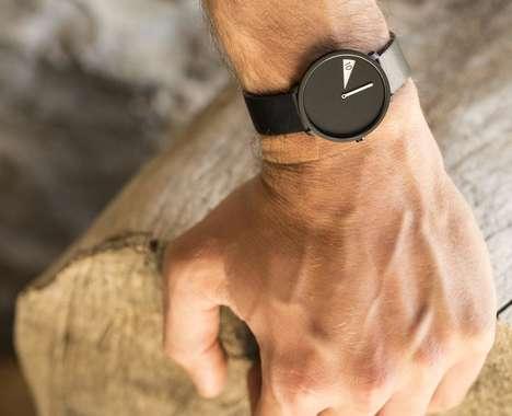 Peeking Digit Timepiece Watches