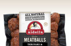 Free-From Packaged Meatballs - Aidell's Cooked Meatballs Offer Versatility and Unexpected Flavors