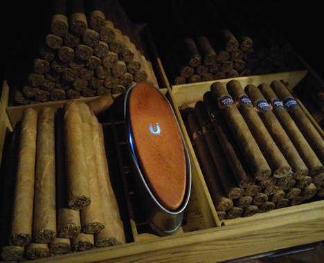 Humidified Cigar Boxes
