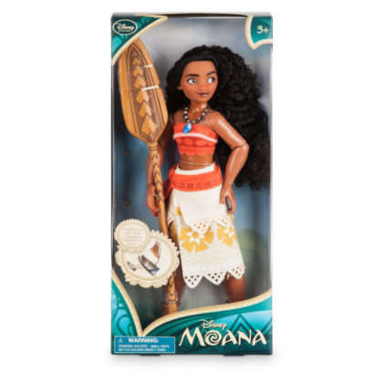 Transformative Doll Boxes - Disney's Moana Doll Comes in Packaging That Turns into a Boat for Play