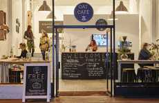 Porridge Breakfast Cafes - Quaker Oats' 'Oat Café' Serves a Different Porridge Every Half Hour