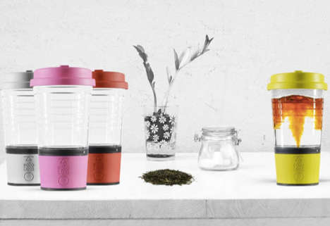 Automated Tea-Brewing Mugs - The Solo Tea Mug Ensures Tea is Steeped to the Perfect Level