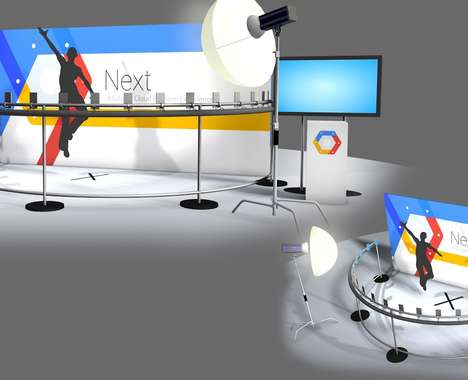 Rotating 3D Photo Booths