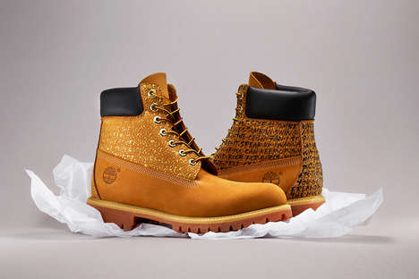 Hip Hop Tribute Boots - TYRSA Adapted a Pair of Classic Timberlands to Commemorate Nas' Legacy