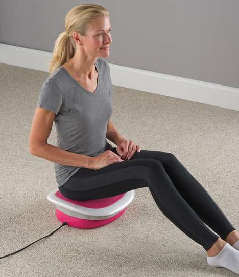 Lower Body Massage Seats - This Device Provides Soothing Relief from Hip and Lower Back Pain