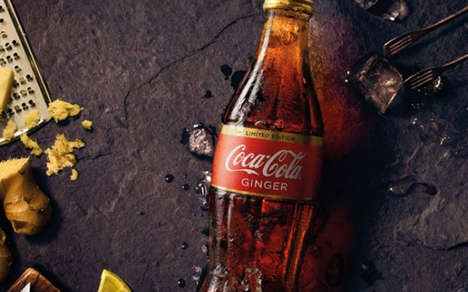 Zesty Ginger Sodas - Coca-Cola is Set to Launch a Ginger-Flavored Soda in Australia