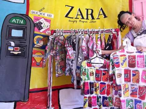 Knockoff Pop-Up Shops - These Artists are Protesting Art Theft with a Fake Zara Pop-Up