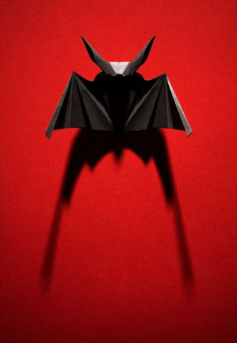 Halloween Origami Sculptures - Dmitry Vetrov Creates Spooky and Shapely Paper Creatures