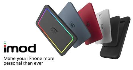 Modular Phone Cases - The iMod iPhone Case Offers Wireless Charging, LED Notifications and More