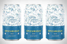 Food-Focused Beers - The Creature Comforts Epicurious Beer Brew is Brewed with Chefs in Mind