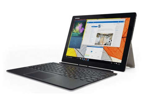All-in-One PC Tablets - The Lenovo Miix 720 Hybrid Tablet Merges Device Functionalities