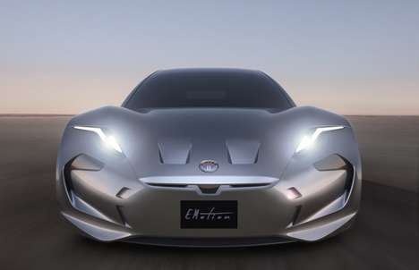 Luxury Electric Sedans - The Fisker EMotion Reaches a Top Speed of 161mph on Electricity Alone