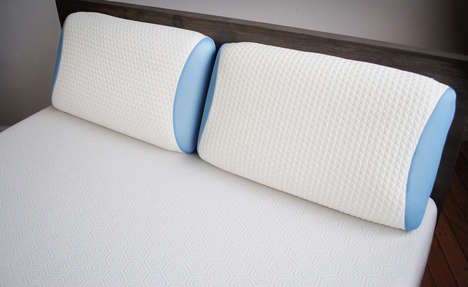 Hybrid Foam Bed Pillows - The Bear Pillow Contours to Your Neck and Head to Provide Perfect Support