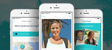Solo Female Travel Apps - The Tourlina App Helps Women to Connect with People While Traveling