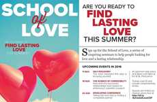 Informative Relationship Classes - eHarmony's 'School of Love' Teaches Singles How to Date
