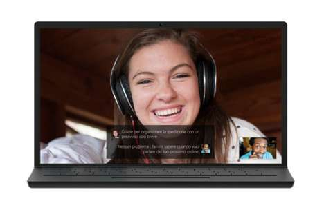 Real-Time Video Translators - Skype's Live Translations Aim to Break Down Language Barriers