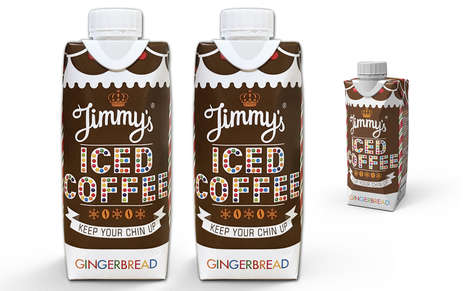 Gingerbread-Flavored Coffee Drinks - Jimmy's is Launching a Gingerbread Iced Coffee for the Holidays