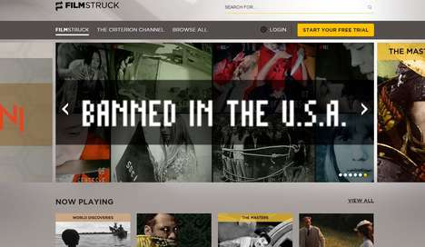 Classic Film Streaming Services - FilmStruck Offers Classics from Film History and Rare Indie Films
