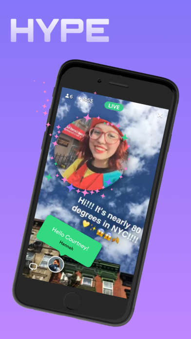 Livestreaming Multimedia Apps - The Hype App Creates Broadcasts with Music, Emojis and Comments