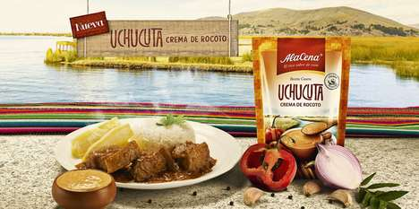 Peruvian Sauce Pouches - These AlaCena Sauces Offer a Quick Taste of Peruvian Culture