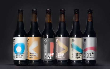 Pixelated Beer Branding - This Collection of Beers Offers Something for Everyone