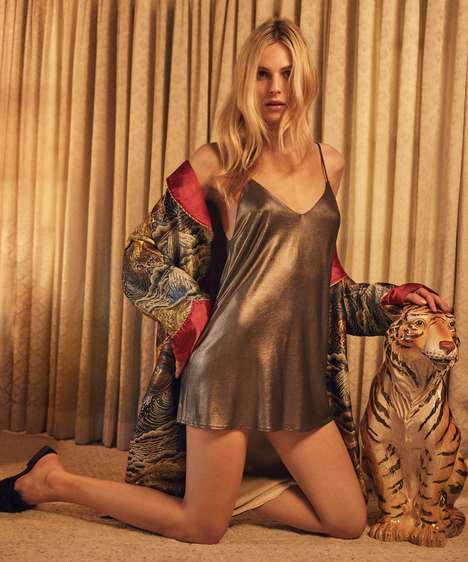Trans-Positive Holiday Campaigns - Reformation's New Holiday Ads Star Trans Model Andreja Pejic