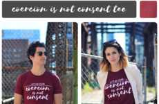Consent-Promoting Apparel - The 'Let's Be Clear' Brand Makes Powerful Statements About Consent