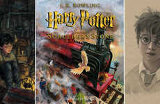 Iconic Wizard Picture Books - Jim Kay's Illustrations Allow Fans to Relive the Magic of Harry Potter