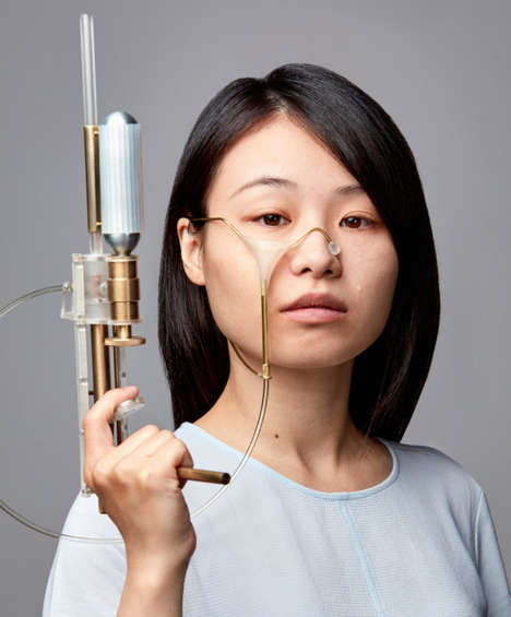 Retaliative Tear Guns - Yi-Fei Chen's 'Tear Gun' Fires Back at Those Who Cause Crying