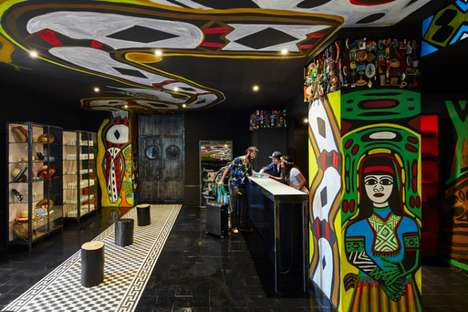 Brazil-Inspired Eccentric Hotels - 'Mama Shelter's' Newest Hotel is Inspired by Its Regional Culture