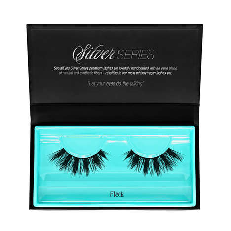 Cruelty-Free False Eyelashes - SocialEyes' Silver Series is an Alternative to Lashes Made with Fur