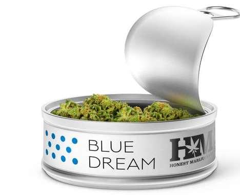 Food-Grade Marijuana Cans