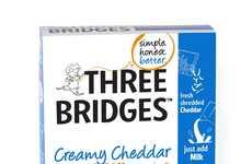 Fresh Macaroni Kits - Three Bridges' Macaroni and Cheese Kit Emphasizes Authentic Ingredients
