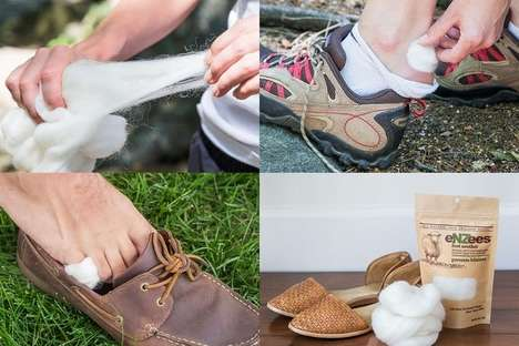 Blister-Preventing Wools - The Enzees Foot Soother Can Prevent Blisters Using Natural Wool