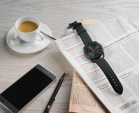 Minimalist Calendar Smartwatches