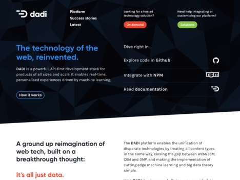 Machine Learning eCommerce Services - 'DADI' Works to Help Better Personalize Content and More
