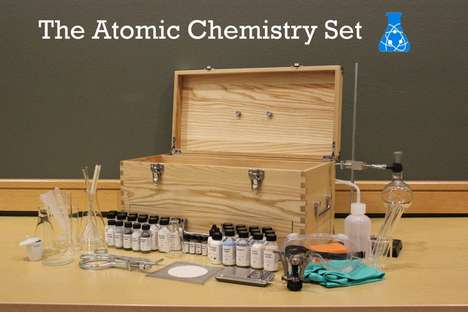 Multifaceted Modern Chemistry Sets - This Set Seeks to Provide the Most Unique Chemical Reactions