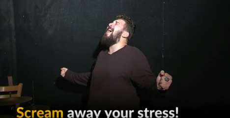 Stress-Relieving Scream Rooms - This Bookstore in Cairo Has a Room for Youths to Release Their Anger